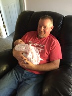 Jimmy and Granddaughter, Payton